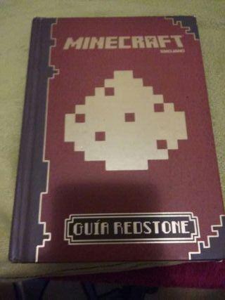 Libro guia de redstone para minecraft.