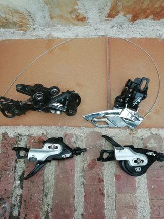 cambios de bici de montaña