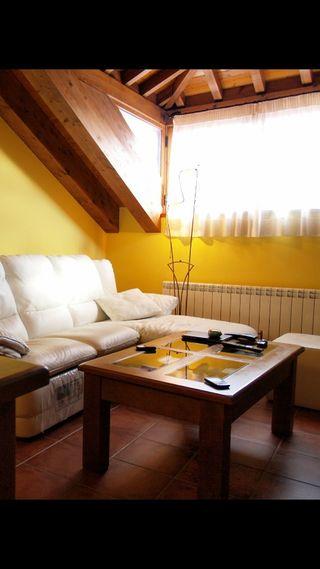 Conjunto muebles sal n de segunda mano por 170 en colmenar viejo en wallapop - Muebles mariano madrid ...