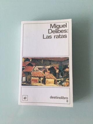 Libro Las Ratas, Miguel Delibes