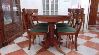 Muebles retro de madera