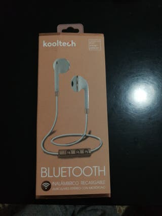 Auriculares Bluetooth.