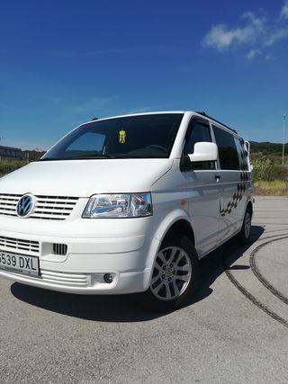 Volkswagen transporter camperizada, autocaravana