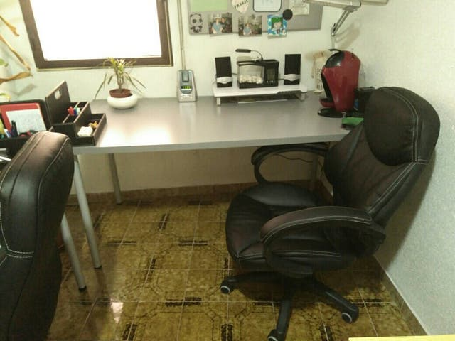 Oferta 2 sillas oficina conforama de segunda mano por 70 ...