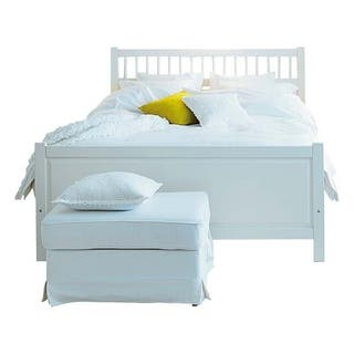 Cama 90×200 con somier requinable