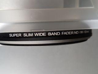 Filtro ND FADER 82mm. Nuevo.+ 2 UV 82nn Polaroit