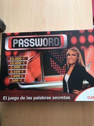password juego de mesa