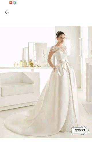 vestido de novia rosa clara de segunda mano en talavera de la reina