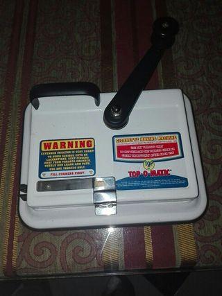 Maquina de entubar