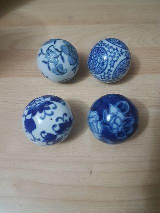 Bolas decoración cerámica