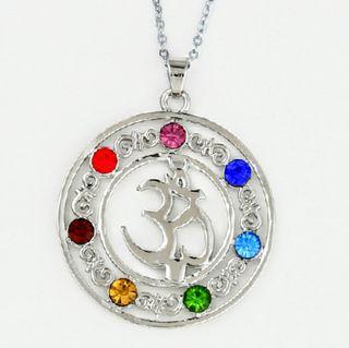 Nuevo!! Amuleto OM 7 chakras