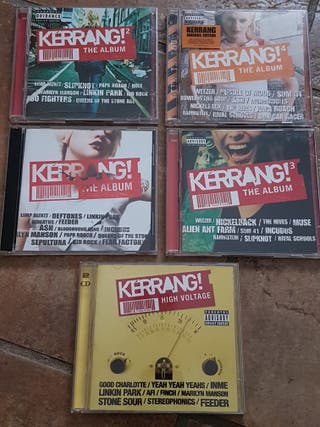 5 x CDs Kerrang! The Album por 3€ cada uno