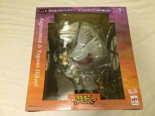 Figura de coleccion digimon angewomon