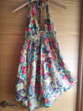 vestido corto verano T M