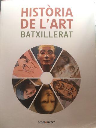 Libro Historia de Lart 2 batx