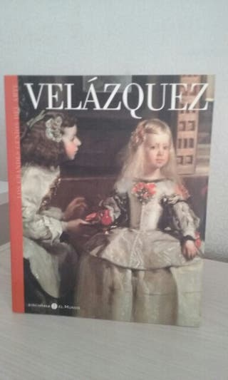 "Libro obras de ""Velázquez"""