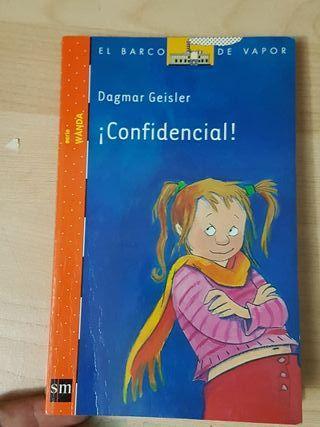 ! Confidencial ! libro infantil