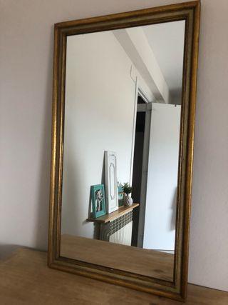 Espejo dorado 48 x 73