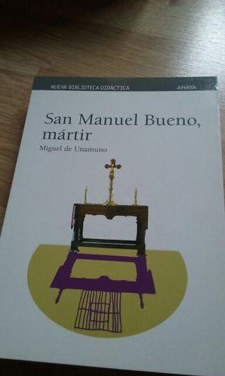 "Libro ""San Manuel Bueno, mártir """