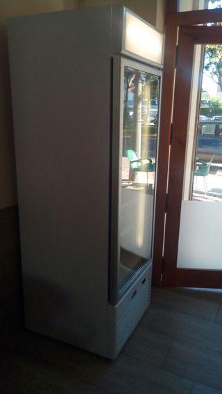 Nevera congelador vitrina