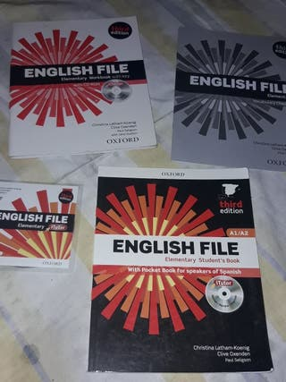 libro ingles english file