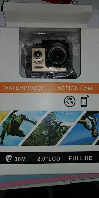 Camara de fotos acuática