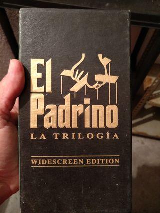 vhs trilogia El padrino
