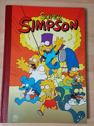 Cómic Super Simpson, tomo 1