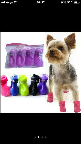 URGE!!!Botas de agua para perros