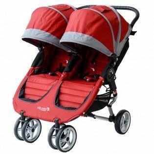 Carrito doble gemelar baby jogger city mini