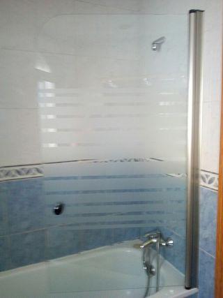 mampara bañera abatible