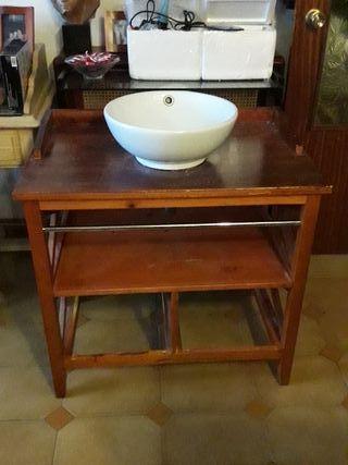 Lavabo con mueble de segunda mano por 45 en madrid en wallapop - Muebles segunda mano madrid particulares ...
