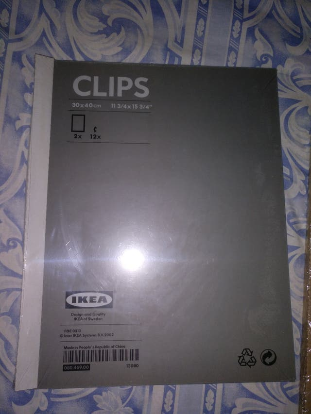 2 marcos de fotos Ikea de segunda mano por 20 € en L\'Hospitalet de ...
