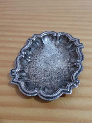 vendo plato de plata