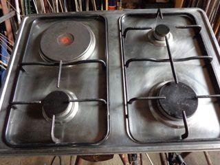 Cocina gas y eléctrica