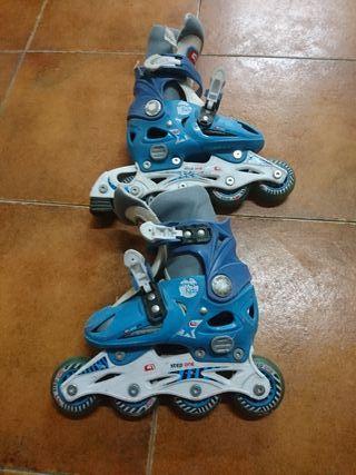 patines de ruedas de talla del 28 al 31