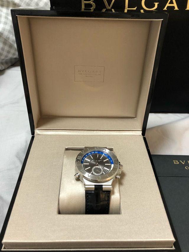 bdb7c0f9b48 Reloj Bvlgari diagono Gmt de segunda mano por 3.500 € en Barcelona ...