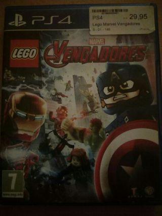 Vengadores Marvel Ps4