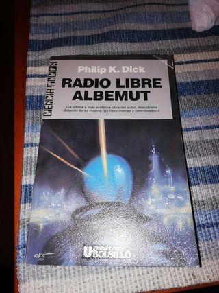 Libro Radio Libre Albemut, de Philip K. Dick