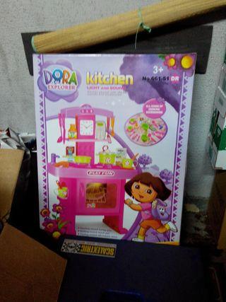 Cocina juguete Dora nueva a estrenar