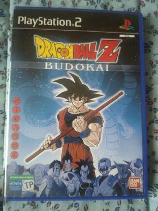 Play Station 2 videojuego Dragon Ball Z Budokai