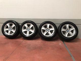 4 Llantas BMW X5 ORIGINALES neumáticos michelin