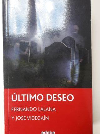 ÚLTIMO DESEO LIBRO