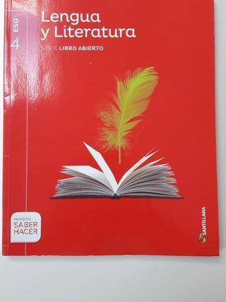 LIBRO LENGUA Y LITERATURA 4 ESO SANTILLANA