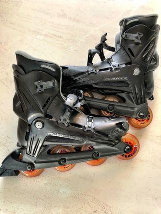 Patines Rollerblade + funda + protecciones