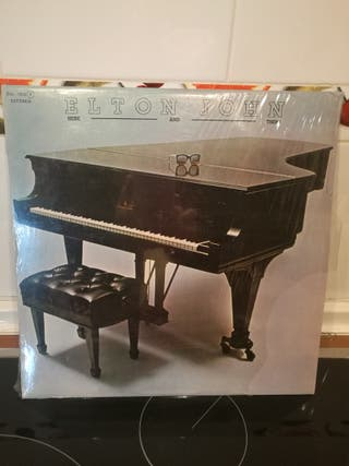 Disco vinilo Elton John - here and there