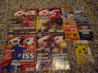 N64 MAGAZINE 64+ MINIGUIAS ( REVISTAS ESPAÑOLAS )
