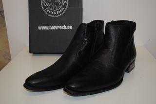 """Zapato """"New Rock"""", m2260 negro, sin estr, talla 42"""