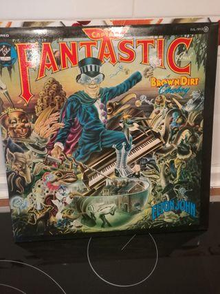 Disco vinilo Elton John - Captain fantastic
