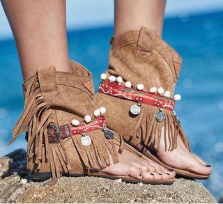 Botines sandalias nuevos